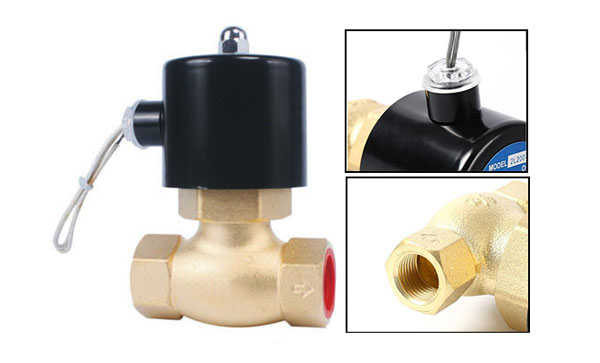 2-way steam water normally closed solenoid valve