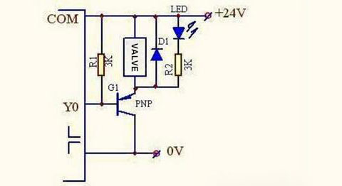 plc controls a solenoid valve with a relay 3/2 valve diagram how five port four way valve works air